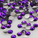 Jewel Embellishments, Resin, Royal purple, Faceted Discs, 3mm x 3mm x 1mm, 300  pieces, [ZSS033]